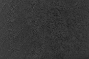 Black elegance leather texture for background with visible details