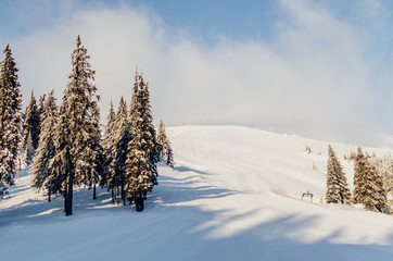 Dragobrat ski resort, Ukraine, Carpathian Mountains
