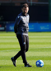 Champions League - Club Brugge Training