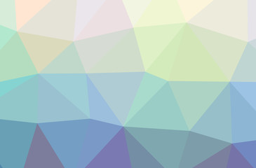 Illustration of blue low poly modern multicolor background.