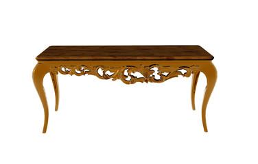 Antiker hölzerner Tisch
