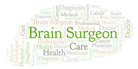 Brain Surgeon word cloud.