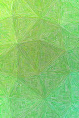 Good abstract illustration of green Colorful Impasto paint. Useful background for your work.
