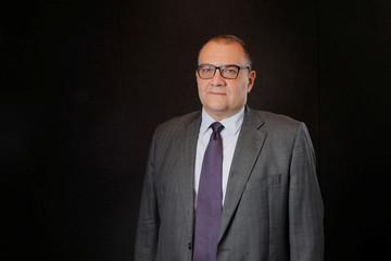 Petrobras CFO Rafael Grisolia poses for a portrait, in New York