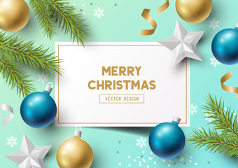 Christmas Composition Vector Elements