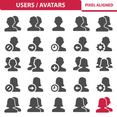 Users / Avatars Icons