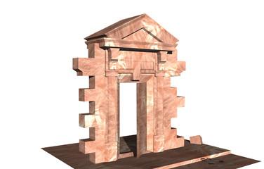 Steinernes Portal