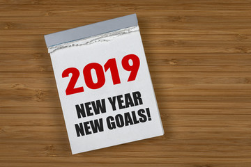 2019 New Year, new Goals!
