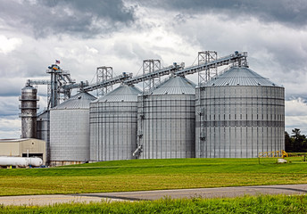 American agricultural silo storage
