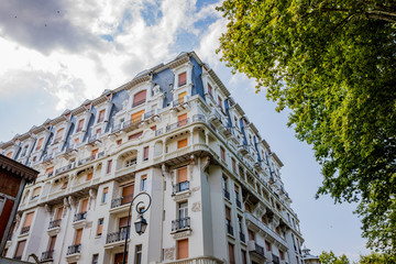 Dans les rues de Vichy