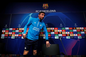Champions League - PSV Eindhoven Press Conference