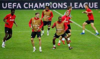 Champions League - Lokomotiv Moscow Training
