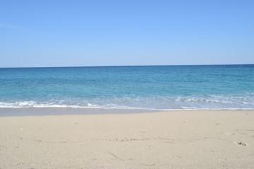 Beautiful Sea and sky