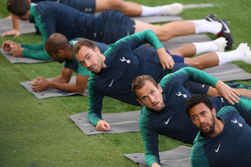 Champions League - Tottenham Hotspur Training