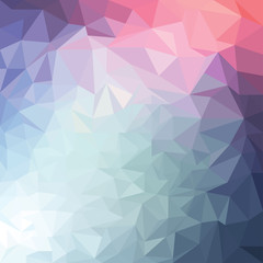 Abstract geometric polygonal background. Backdrop for flyer, poster, leaflet cover.