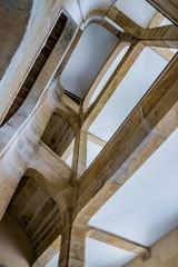 Escaliers dans le Musée du costume de Moulins sur Allier