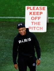 Champions League - Paris St Germain stadium walk around