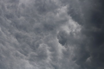 Stormy clouds for background