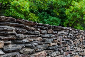 Fototapeta Kamienne ogrodzenie domu, Sopot obraz