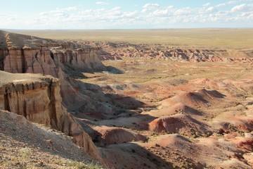 Panorama exceptionnel en Mongolie