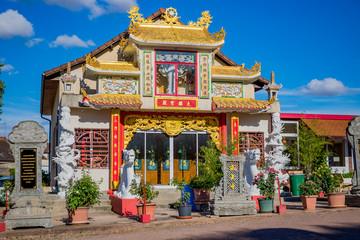 La Pagode Phat Vuong Tu à Noyant-d'Allier