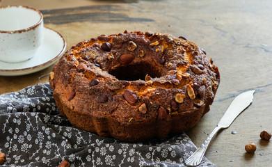 Nut Christmas Cake