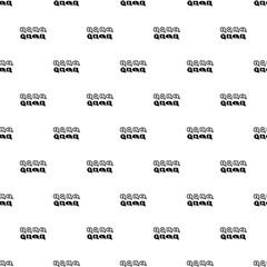 Bubble speech sale icon. Simple illustration of bubble speech sale vector icon for web