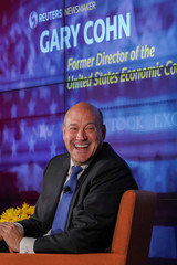 Former Director of the U.S. National Economic Council Gary Cohn speaks at a Reuters Newsmaker event in New York City