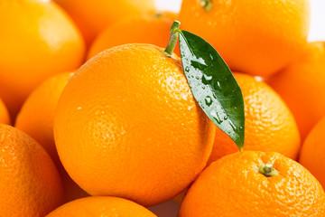 Background with orange fruits.