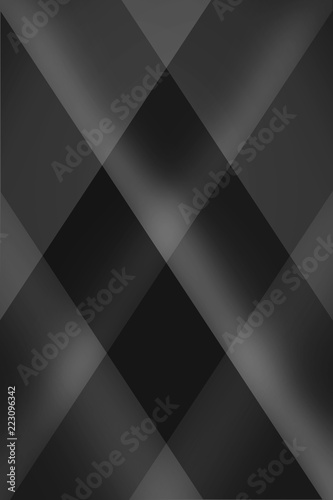 Background Of Abstract Black Geometric Pattern Design Gray Modern Wallpaper With Triangles And Diamond Shapes