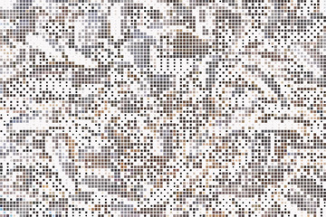 Abstract  halftone pattern