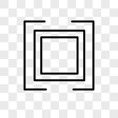 Auto vector icon isolated on transparent background, Auto logo design