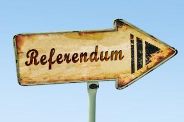 Schild 328 - Referendum