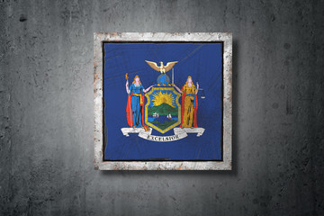 Old New York State flag