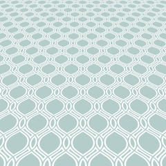 Modern vector light blue and white pattern. Geometric abstract texture. Graphic geometric background with perspective pattern
