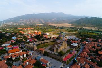 Ancient monastery Svetitskhoveli in the city of Mtskheta.