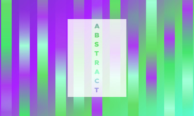 Abstract Geometric Banner with Gradient.