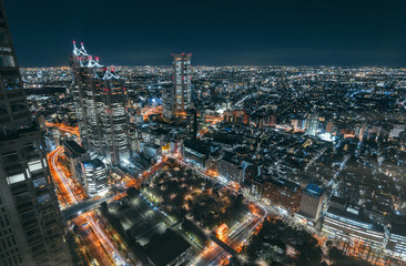 Shinjuku night lights