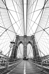 Acrylic Prints Brooklyn Bridge brooklyn bridge in new york