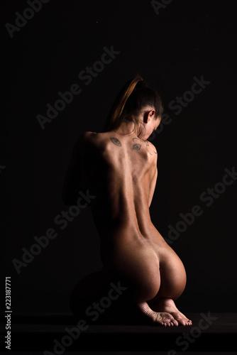 Nudo sexy nero culo