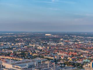 City shots in the night of Munich
