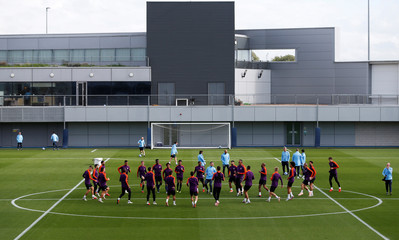 Champions League - Manchester City Training
