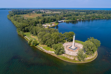 Presque Isle Peninsula Lake Erie Pennsylvania Perry Monument