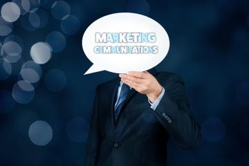 Marketing communications concept