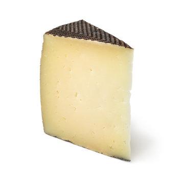 Wedge of Spanish Manchego cheese
