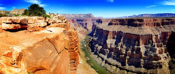 Grand Canyon with Colorado River Gorge Landmark Wall mural