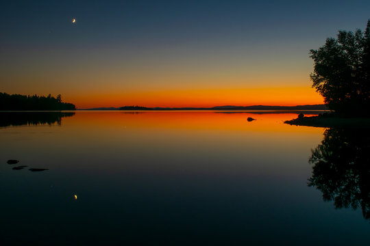 Moosehead Sunset 1