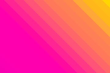 Yellow to Pink Diagonal Gradient Stripped Background