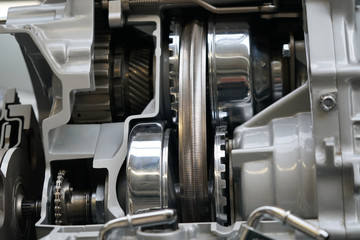 Offener Motor - Getriebe