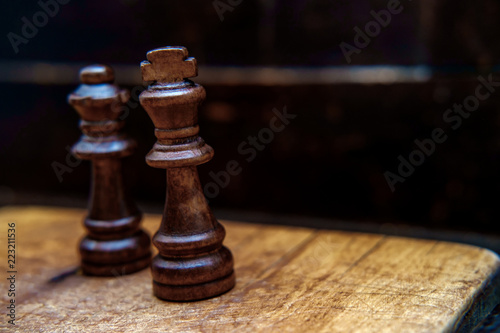 Chess Pieces King Queen Stock Photo And Royalty Free Images On
